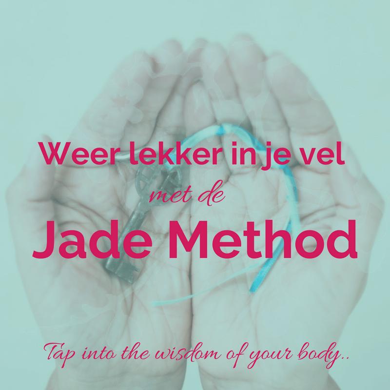 Na je burnout lekker in je vel met de Jade Method