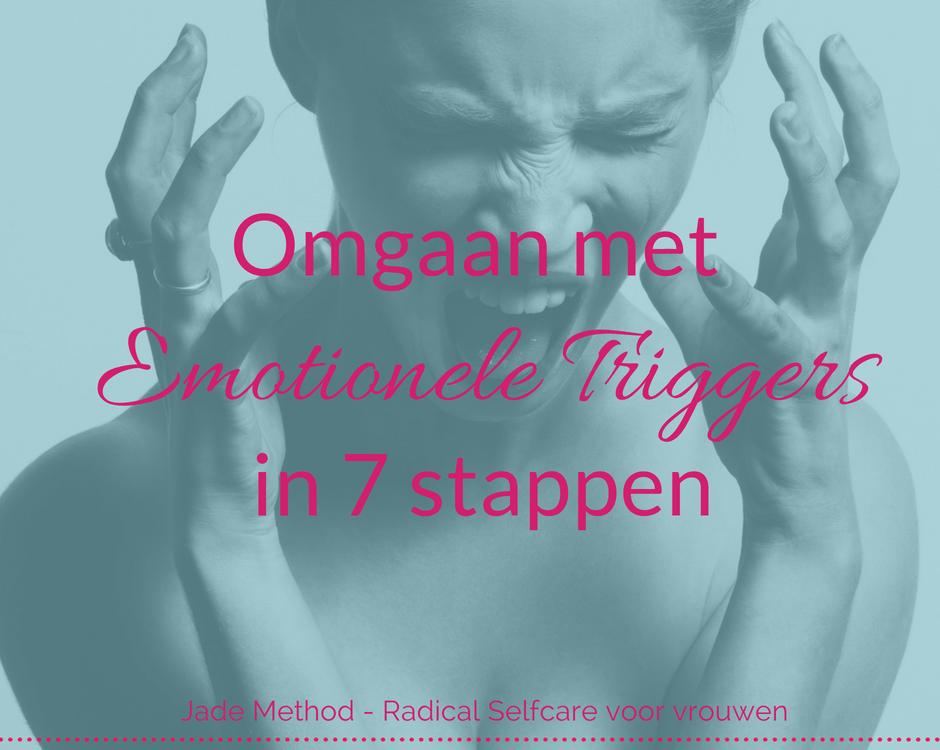 Omgaan met emotionele triggers