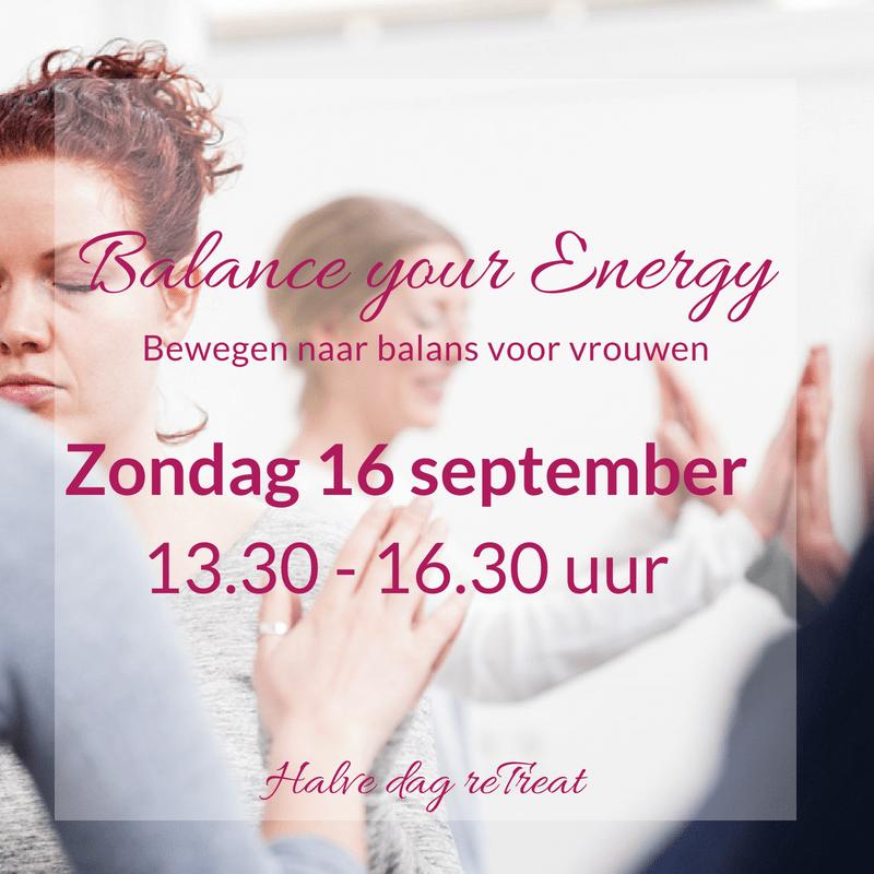 Yin en de zorg voor je energiebalans