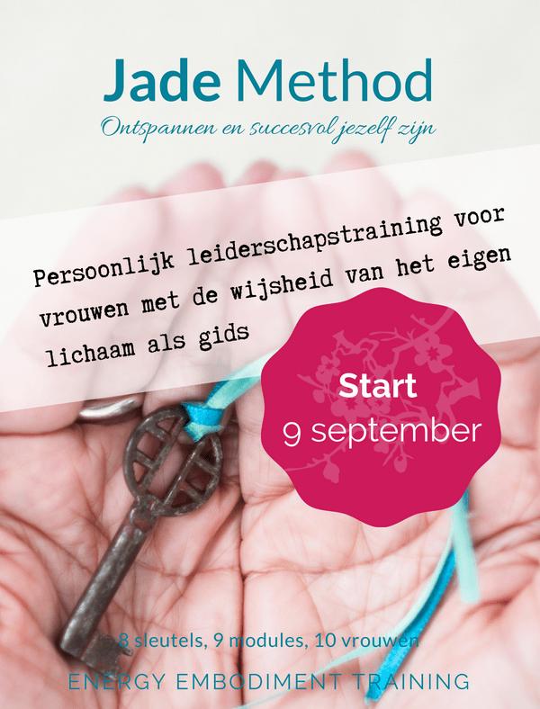 Jade Method Training najaar 2018