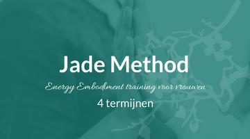De Jade Method Energy Embodiment training kun je ook in vier termijnen betalen