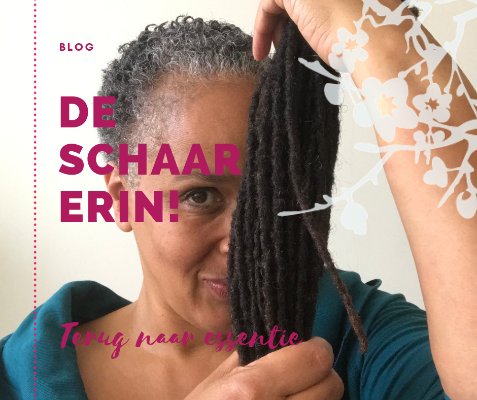 De schaar erin - terug naar essentie