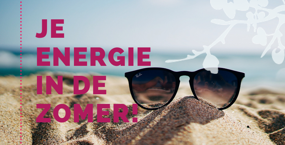Je energie in de zomer