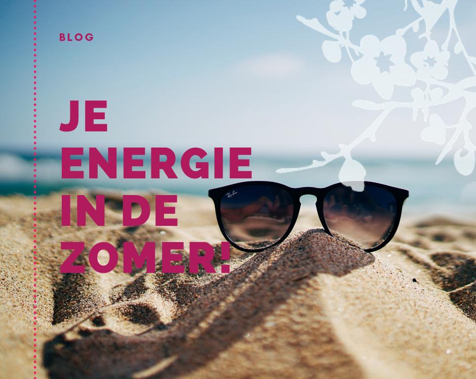 Je energie in de zomer