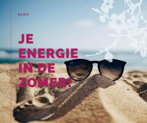 Meer energie in de zomer